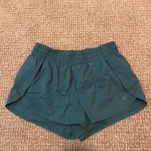 Athleta Teal Shorts